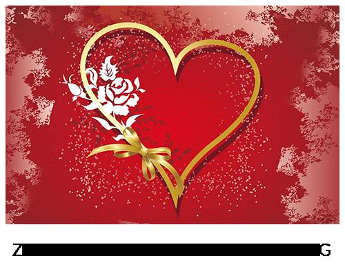 Zeichen der Liebe am Valentinstag